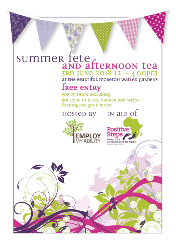 PS Summer Fete Poster