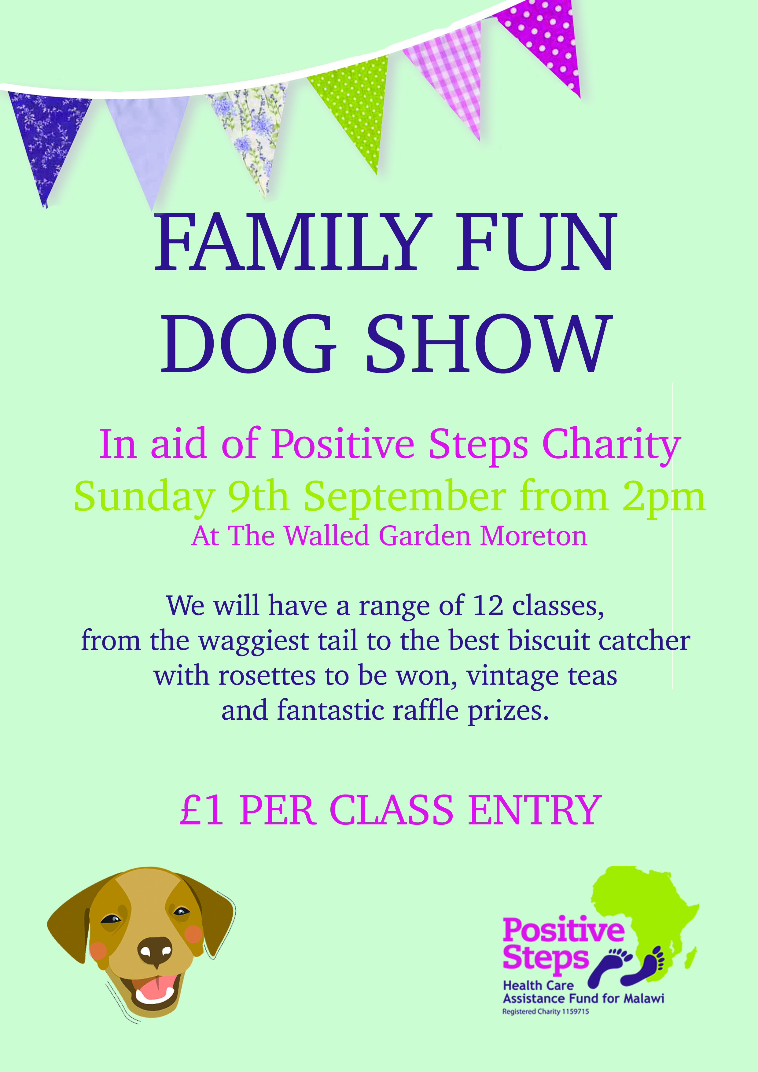 WG DOG SHOW Poster